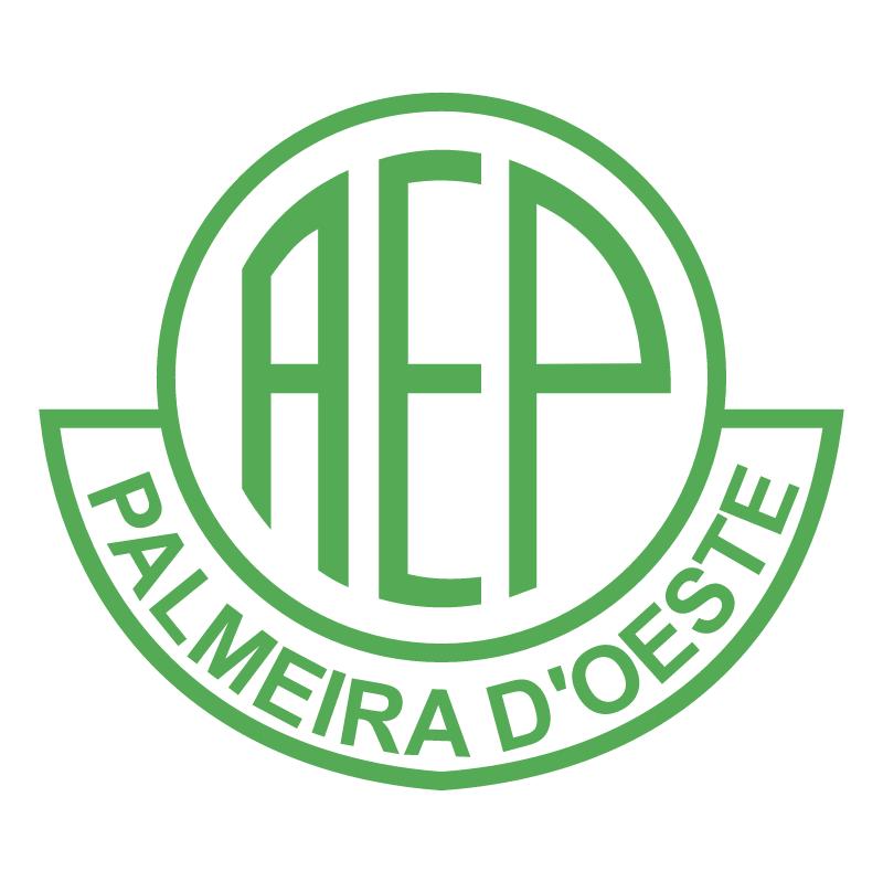 Associacao Esportiva Palmeiras de Palmeira D'Oeste SP vector