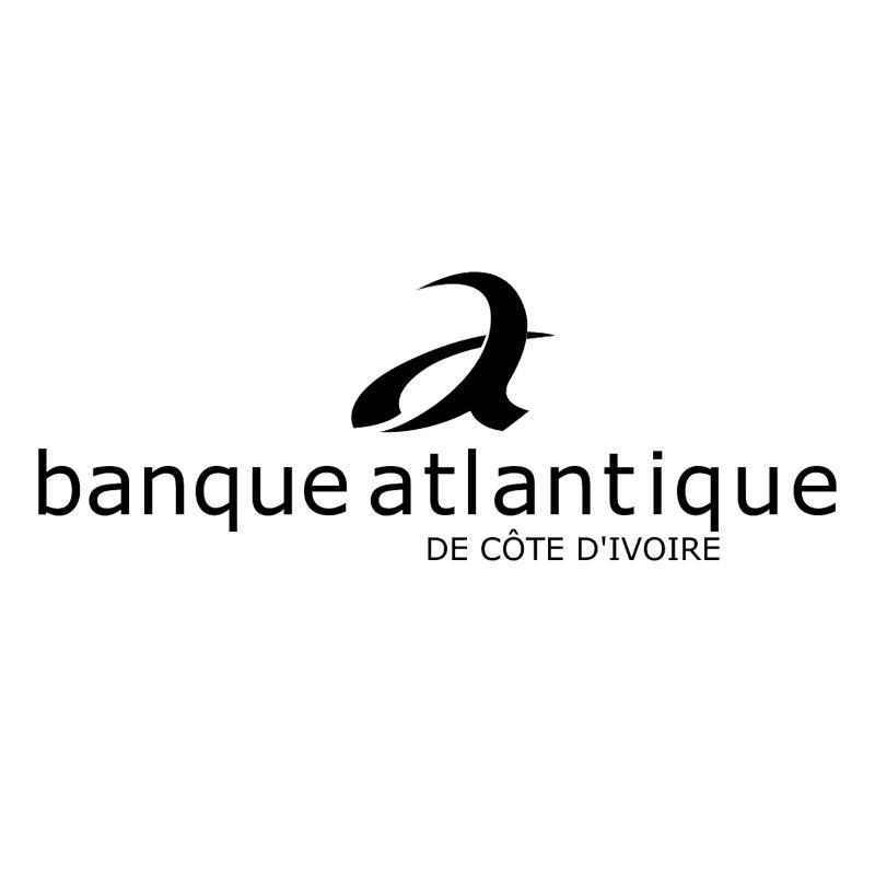 Banque Atlantique 42719 vector