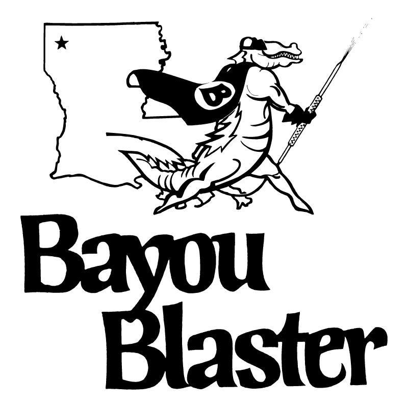 Bayou Blaster vector