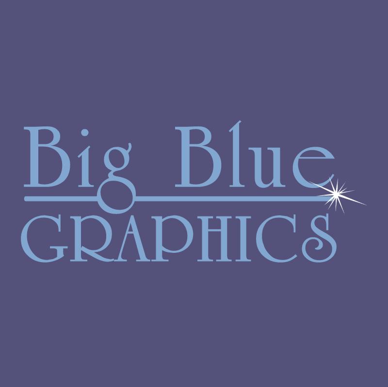 Big Blue Graphics vector
