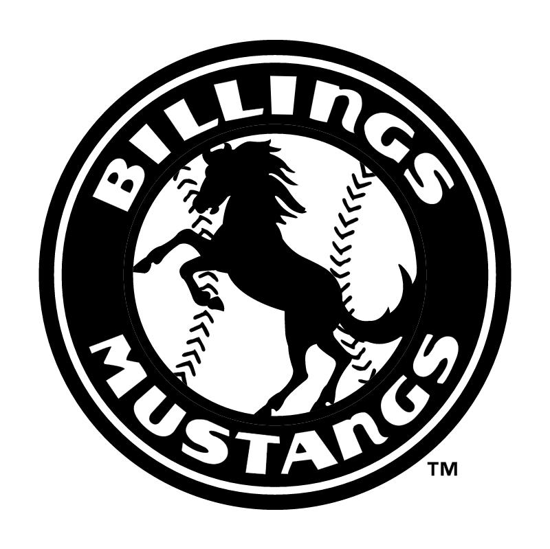Billings Mustangs vector