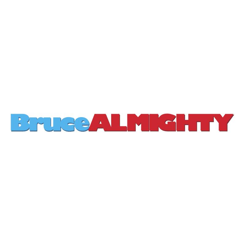 Bruce ALMIGHTY vector