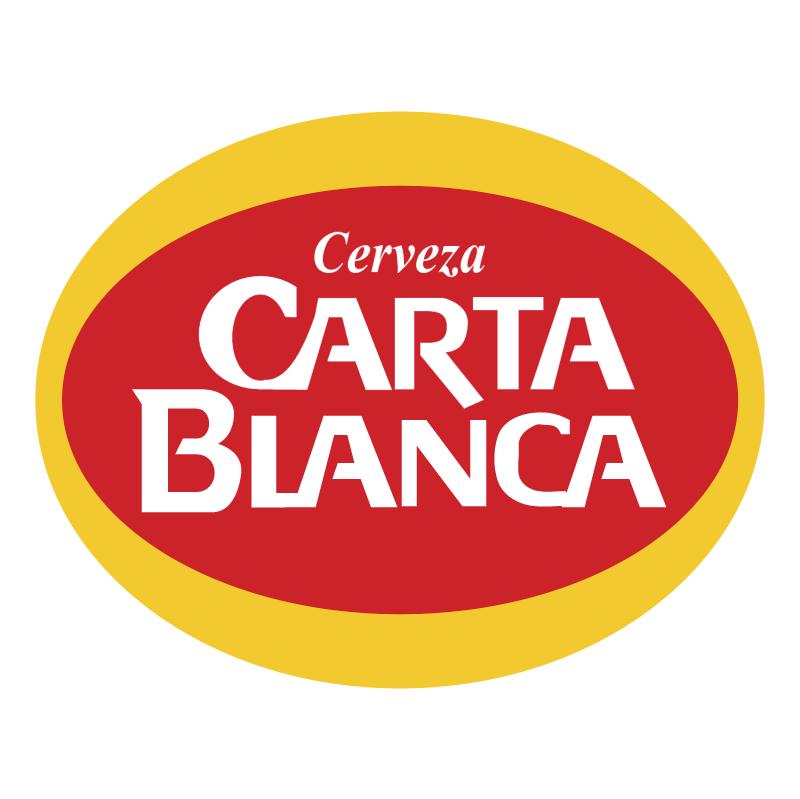 Carta Blanca vector