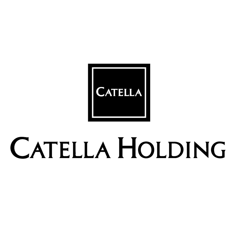 Catella Holding vector logo