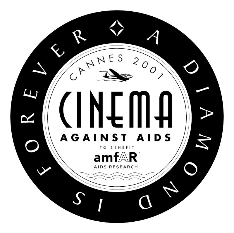 Cinema Against AIDS vector logo