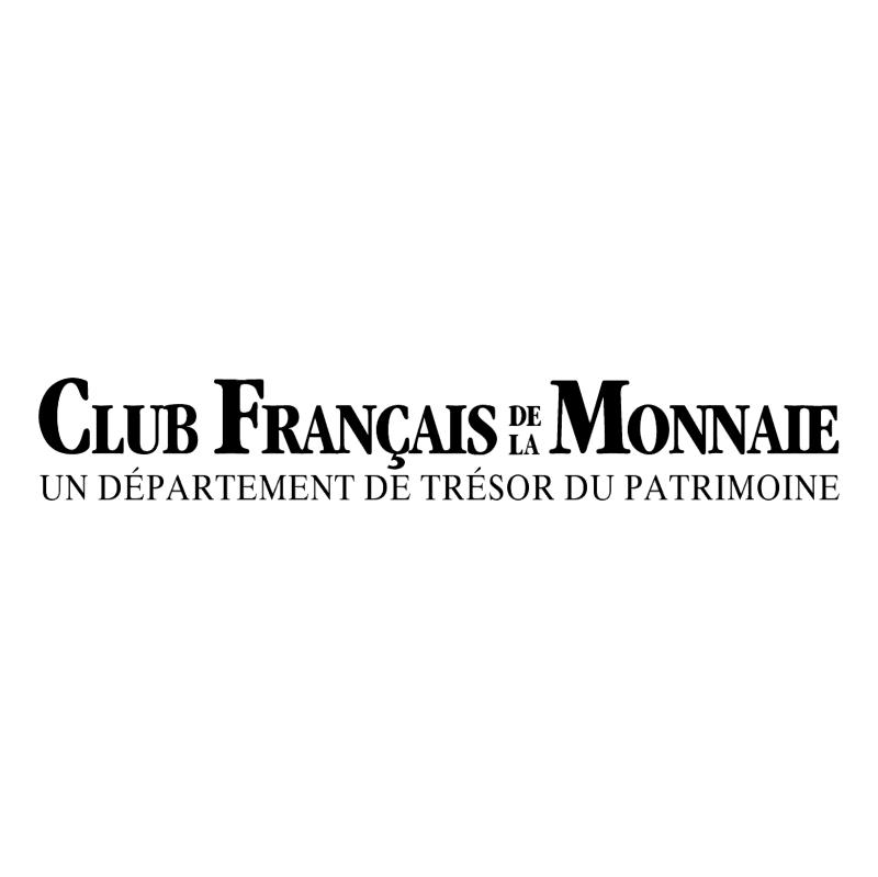 Club Francais Monnaie vector