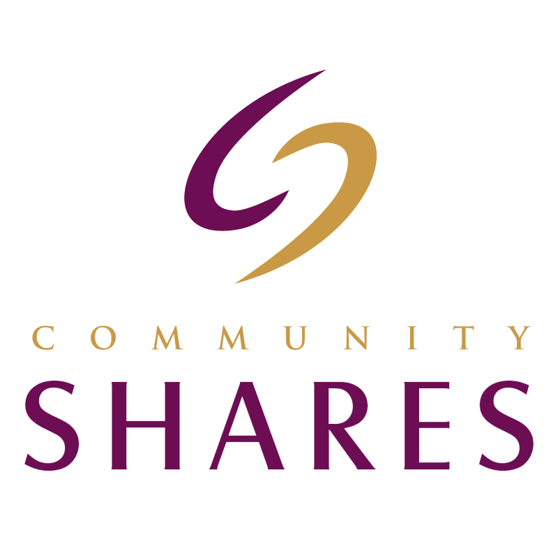 Community Shares vector logo