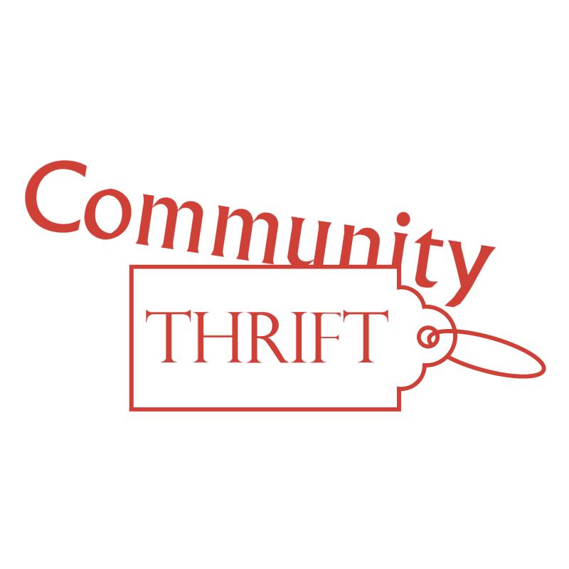 Community Thrift vector