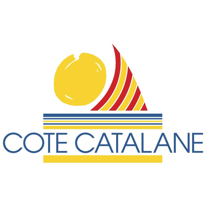 Cote Catalane vector logo