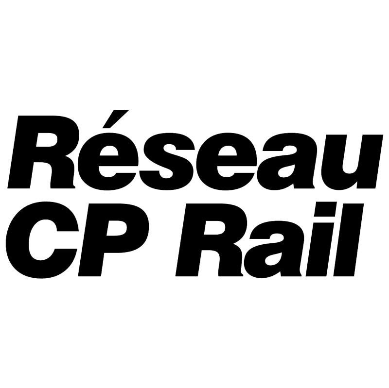 CP Rail Reseau vector