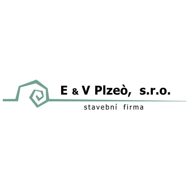 E&V Plzeo vector logo