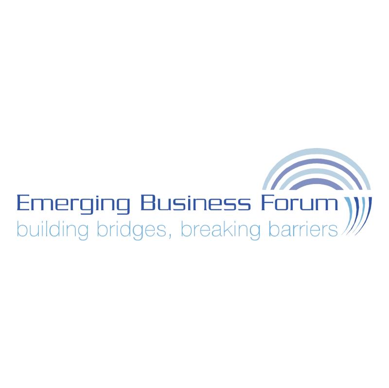 Emerging Bisuness Forum vector logo