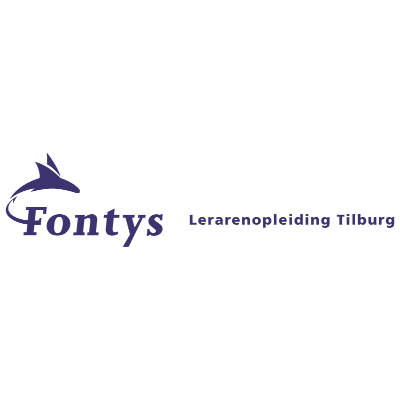 Fontys Lerarenopleiding Tilburg vector logo
