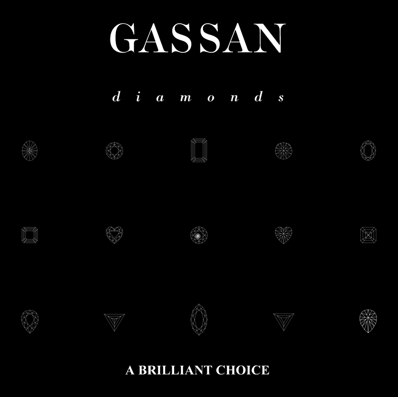 Gassan Diamonds vector
