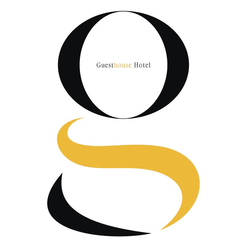 GuestHouse hotel vector logo