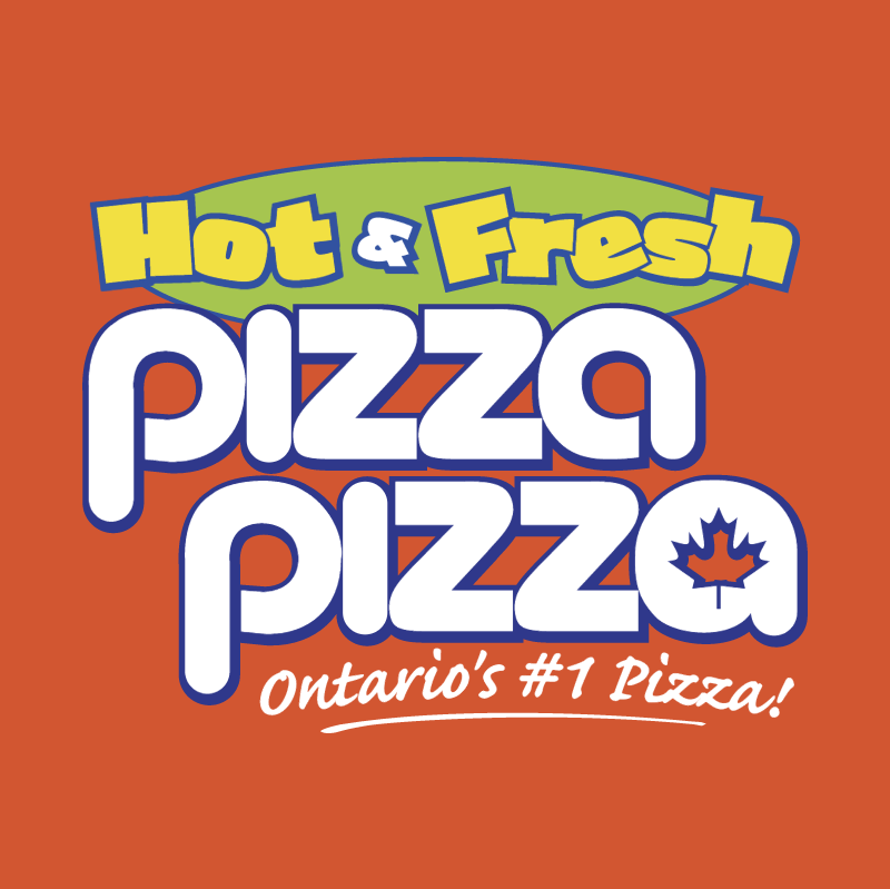 Hot & Fresh Pizza Pizza vector