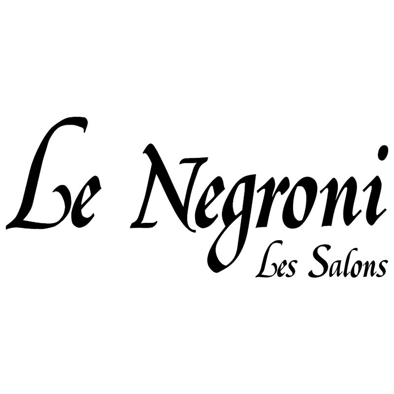 Le Negroni vector