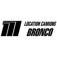 Location Camions Bronco vector