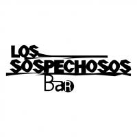 Los Sospechosos Bar vector