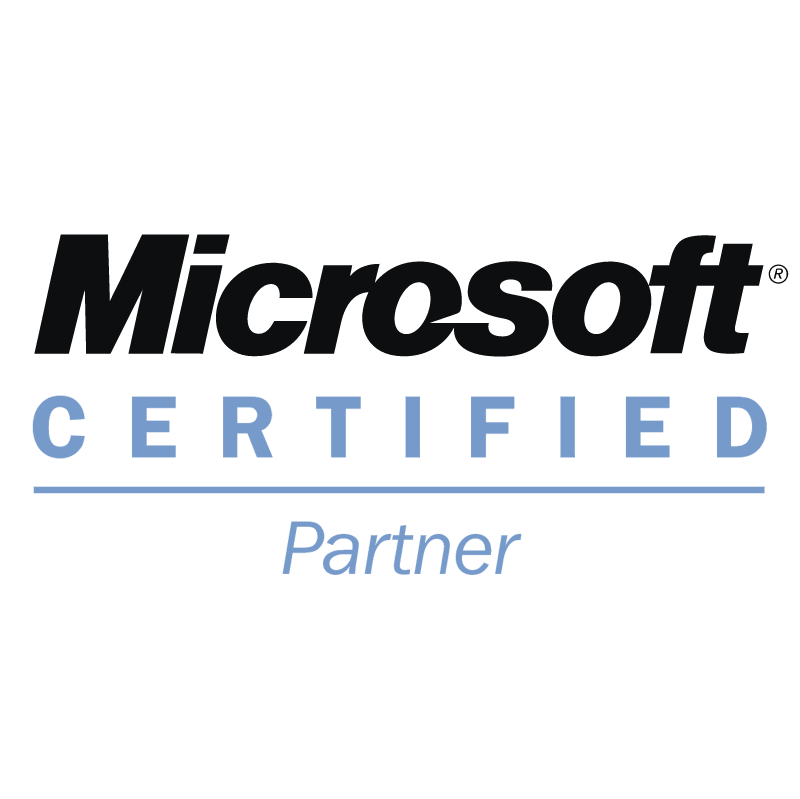 Microsoft Certified Partner vector