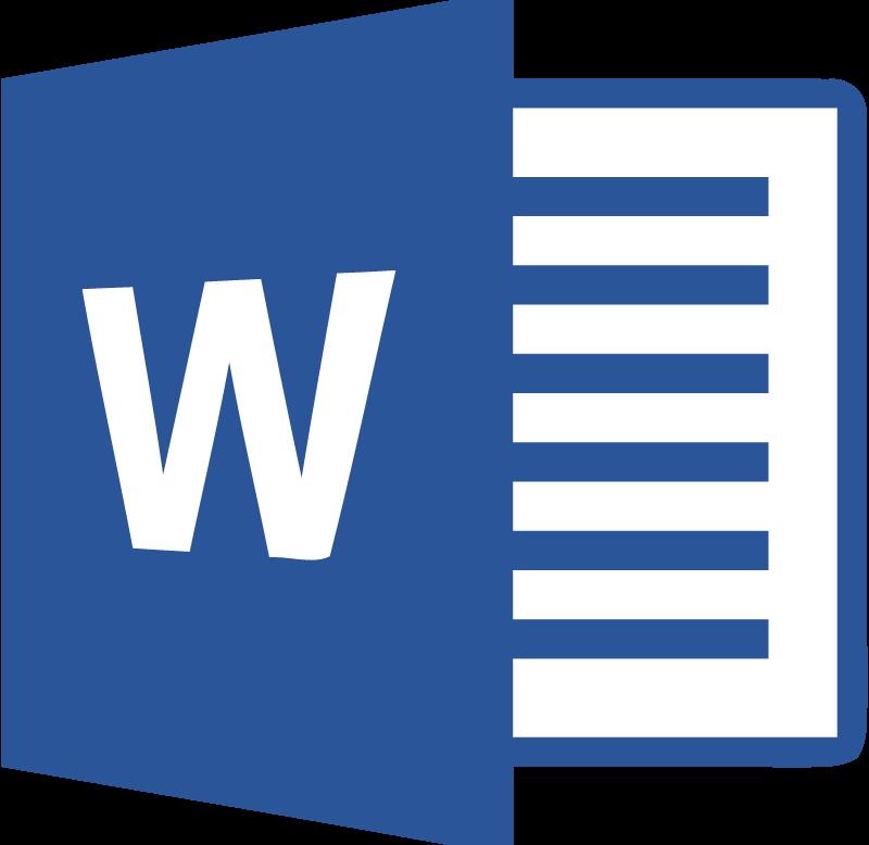 Microsoft Word 2013 vector