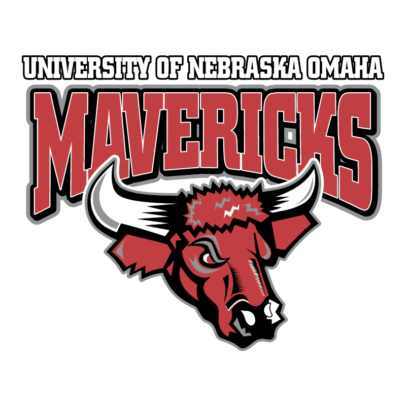 Nebraska Omaha Mavericks vector