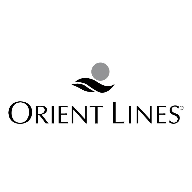Orient Lines vector