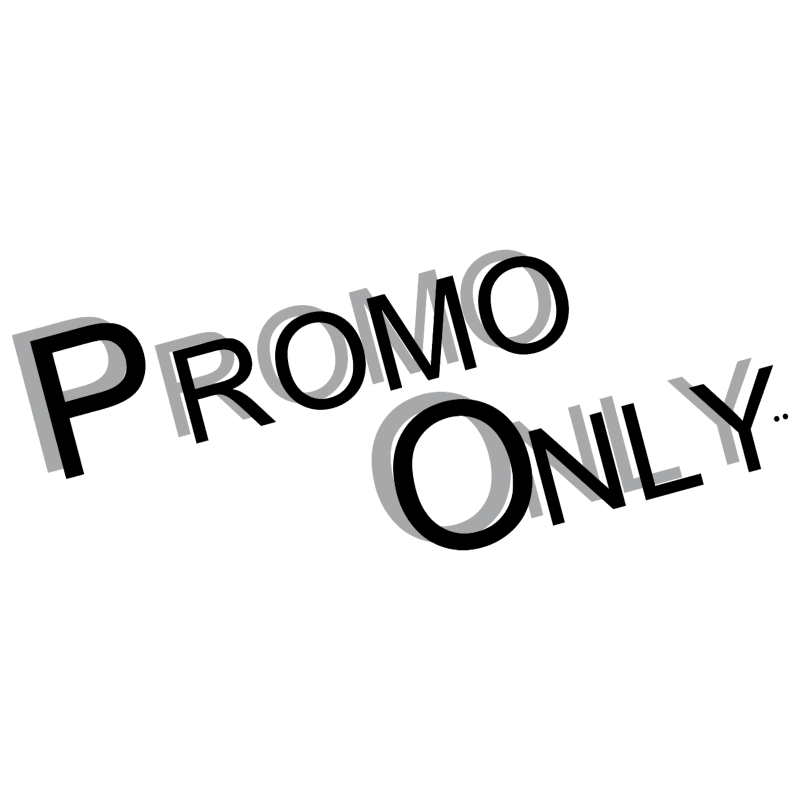 Promo Only vector