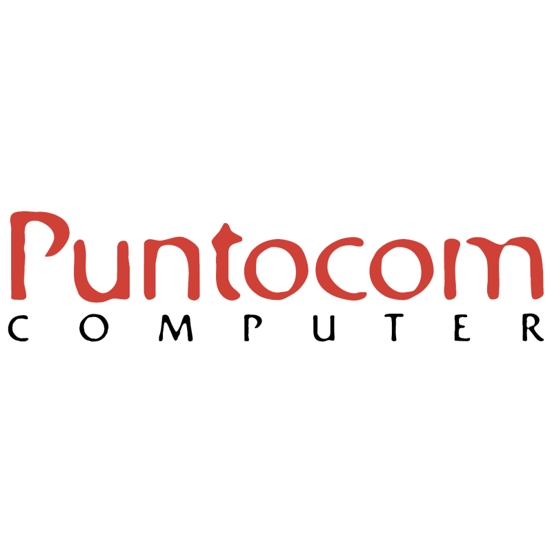 Puntocom Computer vector