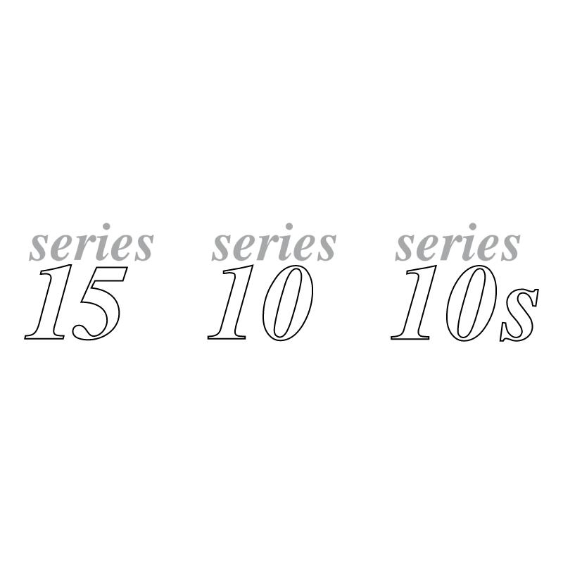 Series 15 10 10s vector logo