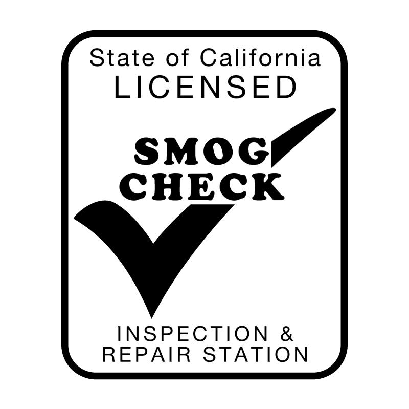 Smog Check vector