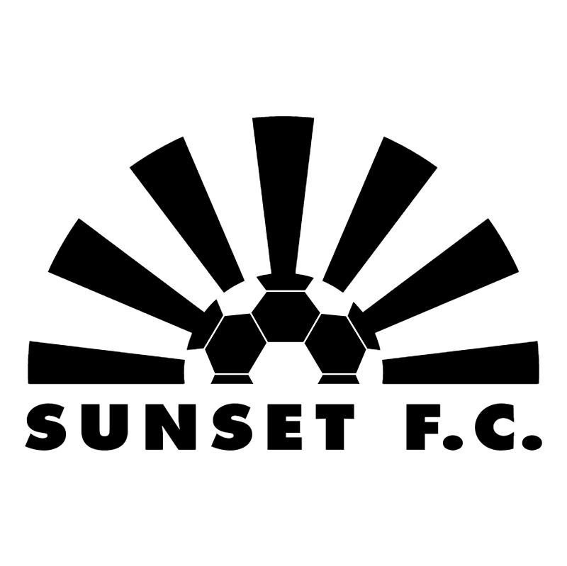 Sunset FC vector