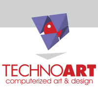 Technoart vector