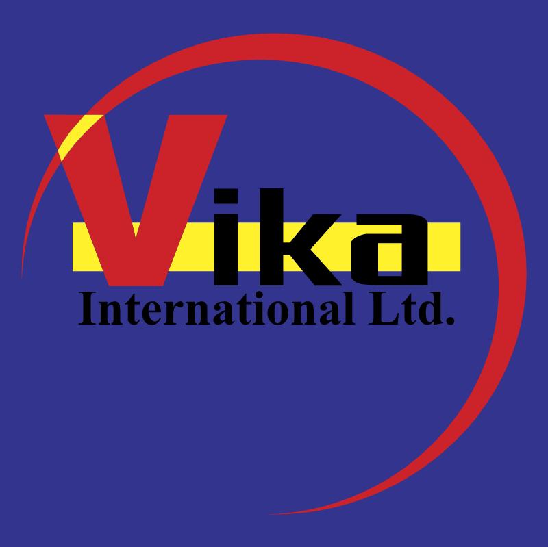 Vika International vector logo