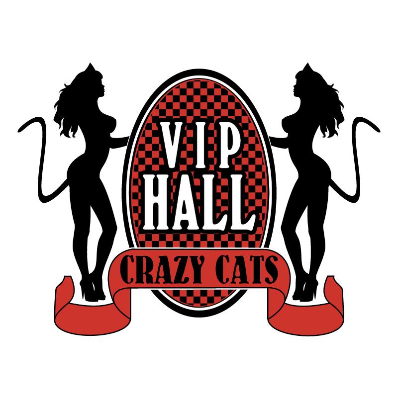 Vip Hall Crazy Cats vector
