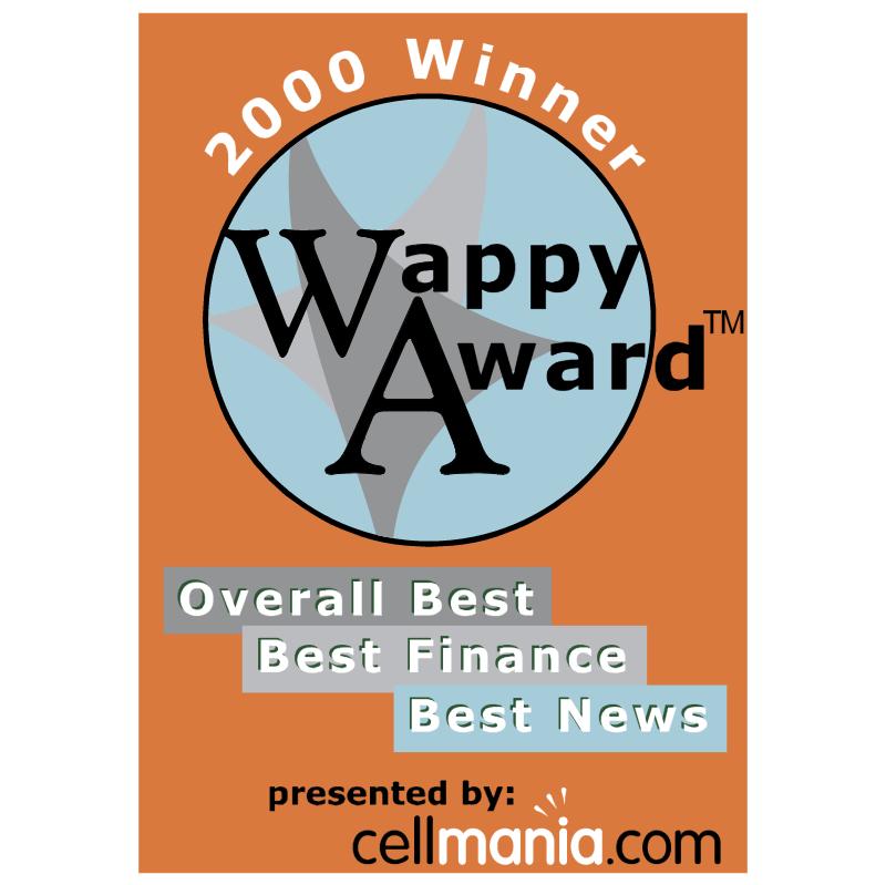 Wappy Award vector logo