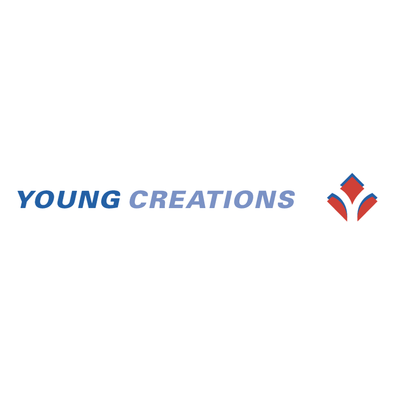 Young Creations vector logo