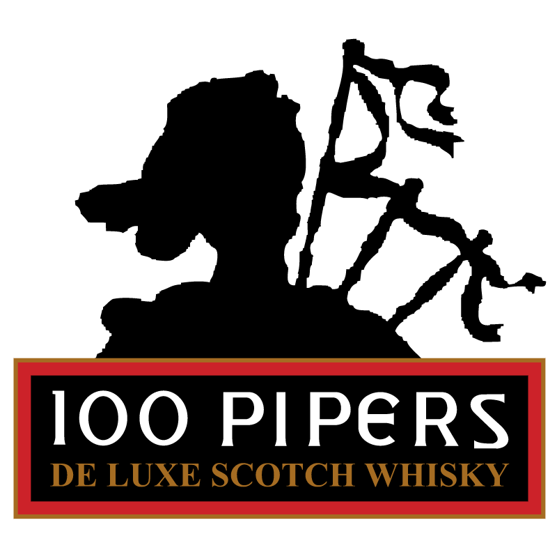 100 Pipers vector