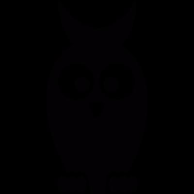 Cute Owl vector logo