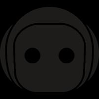 Robot face vector