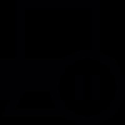 Pause Printer vector logo