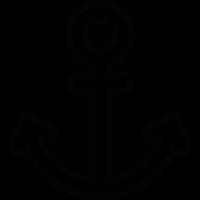 Sailor Anchor vector