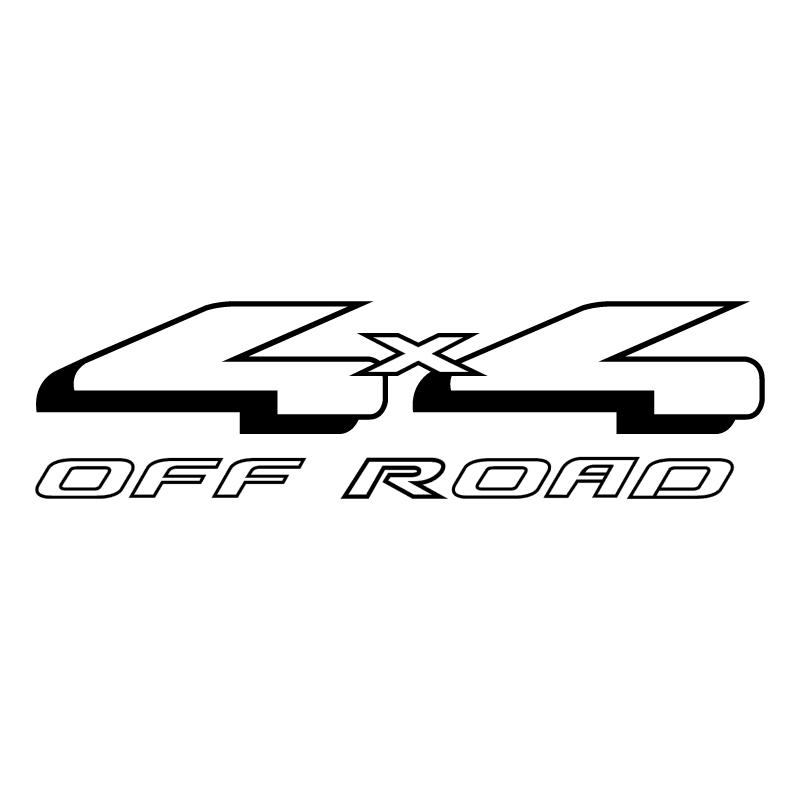 4×4 Off Road vector