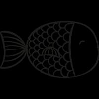 Kitchen Fish vector