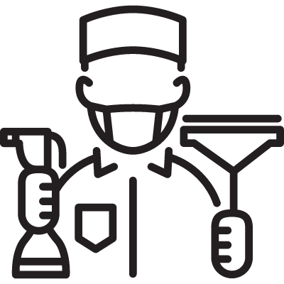 Cleaning Service vector logo