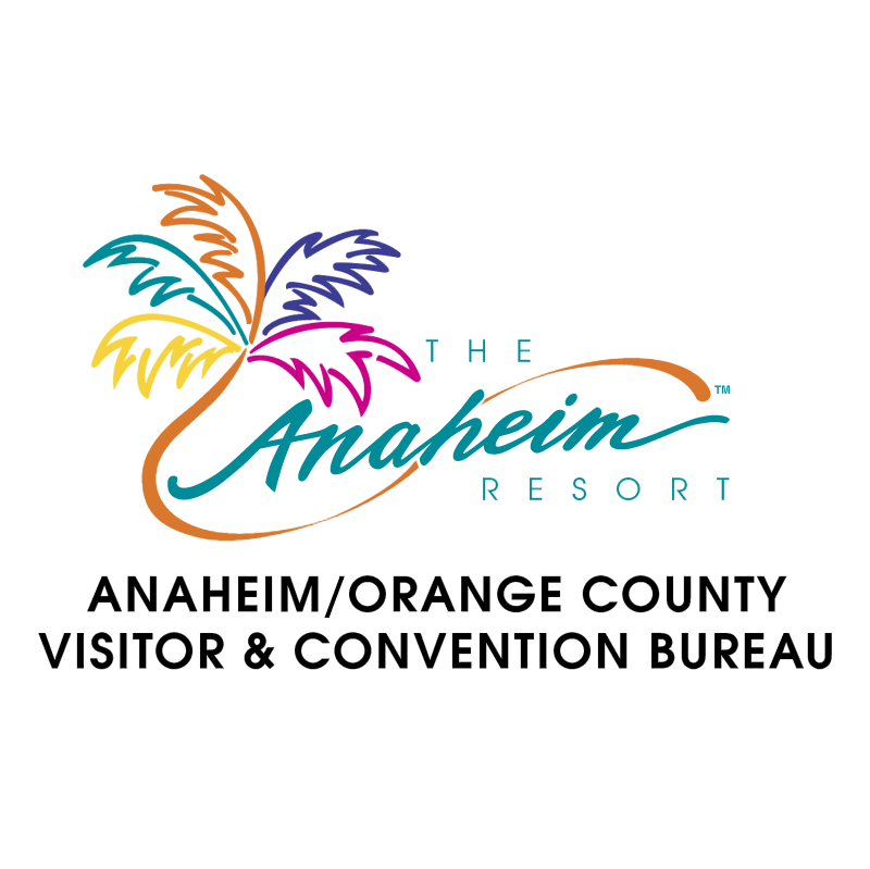 Anaheim Visitor Bureu 59551 vector