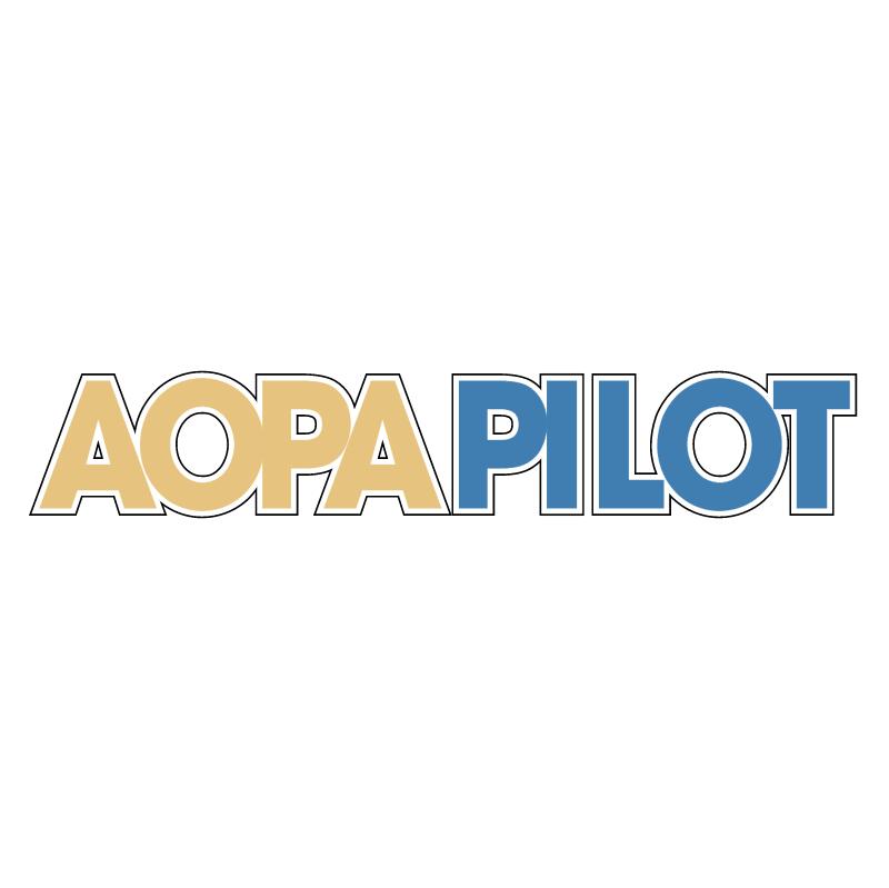 Aopa Pilot 39394 vector