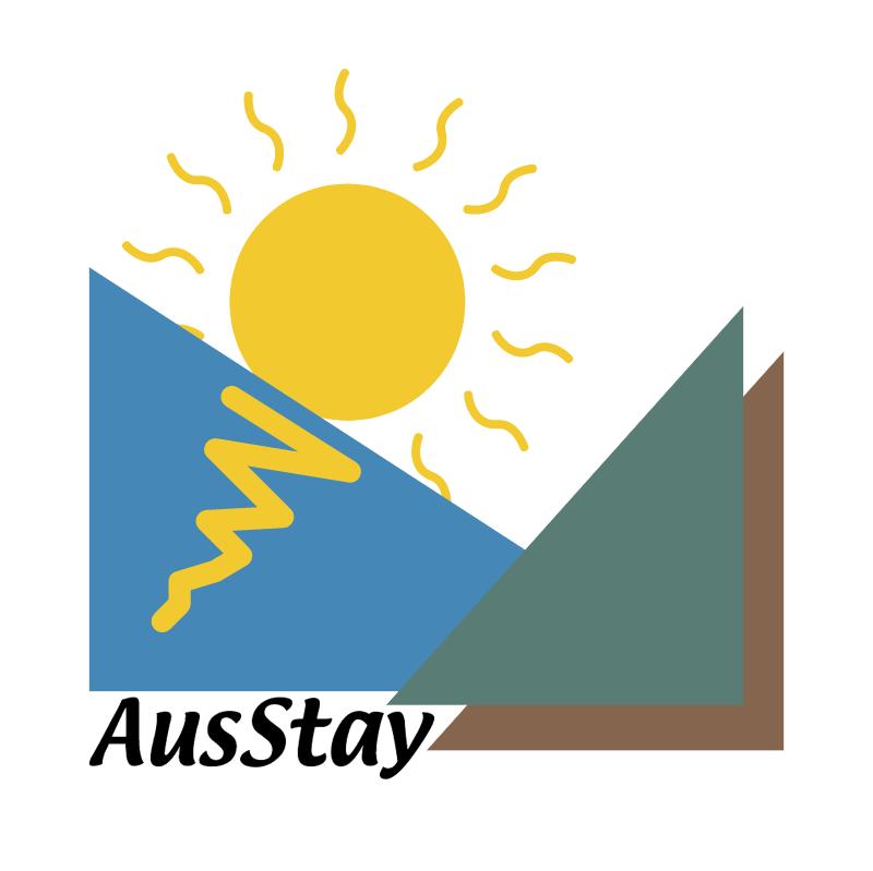 AusStay 43326 vector logo