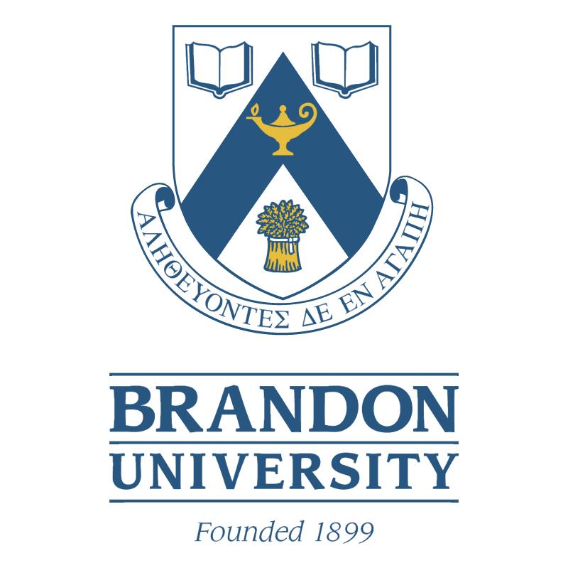 Brandon University vector