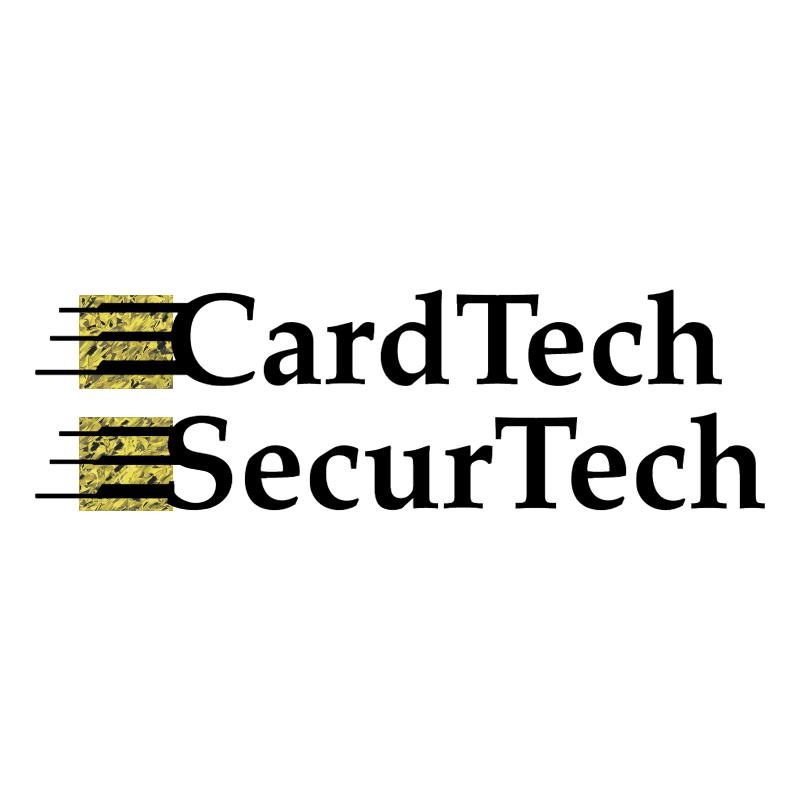 CardTech SecurTech vector